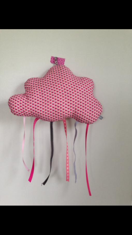 Découvrez nos nuages en tissu à suspendre pour décorer la chambre de votre enfant