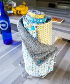 Rouleau de sopalin écologique et lavable en tissu