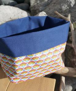 Panier en tissu imperméable fait main à Anglet