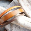 bijoux bracelet manchette en cuir artisanal pour femme