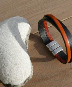 Bracelet homme en cuir à Pau