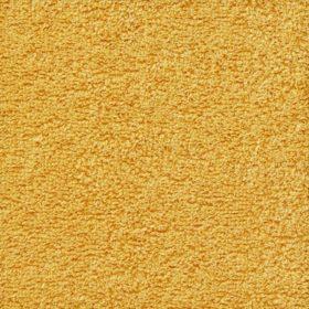 Coton eponge moutarde