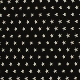 tissu jersey noir et balnc