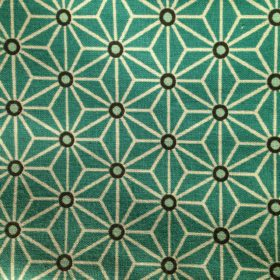 tissu asymétrique bleu turquoise