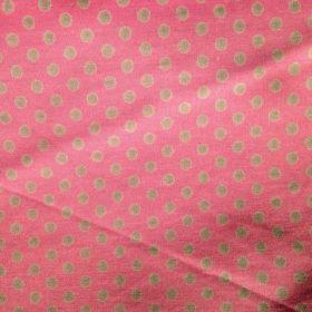 lettre en tissu rose et gris