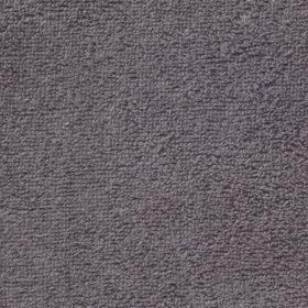 Tissu éponge grise anthracite