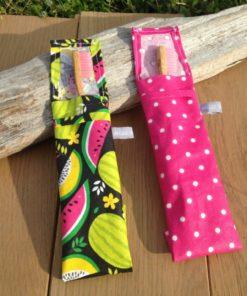 Pochette à brosse à dent imperméable très léger, écologique et zéro déchet
