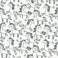 set de coloriage lavable licorne, étoile filante