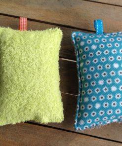 Eponge en tissu réutilisable et lavable en machine, zéro déchet