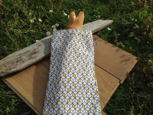Découvrez nos sac à pain fabriqués en tissu, lavable zéro déchet