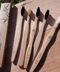 Brosse à dent en bois compostable