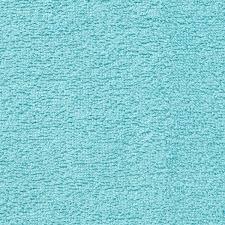 Tissu coton eponge bleu