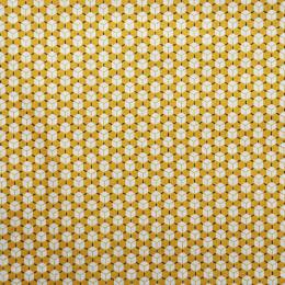 tissu jaune oekotex cuby