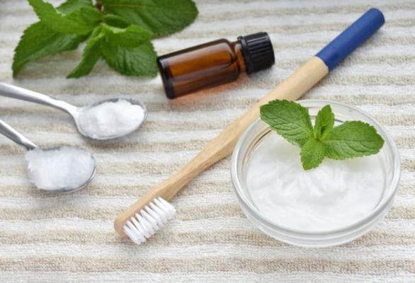 recette de dentifrice maison bicarbonate menthe zéro déchet