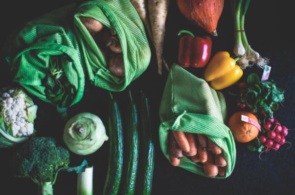 sac à vrac en tissu pour fruits légumes