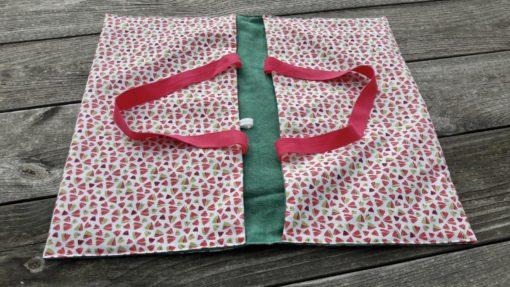sac à tarte pour transporter des préparations, accessoires zéro déchet