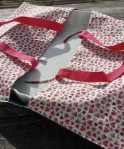 sac tarte en tissu lavable, réutilisable pour vos gâteaux