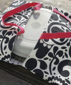sac à tarte en coton alternative zéro déchet