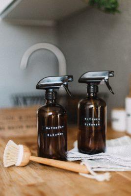 spray nettoyant pour cuisine bien être zéro déchet