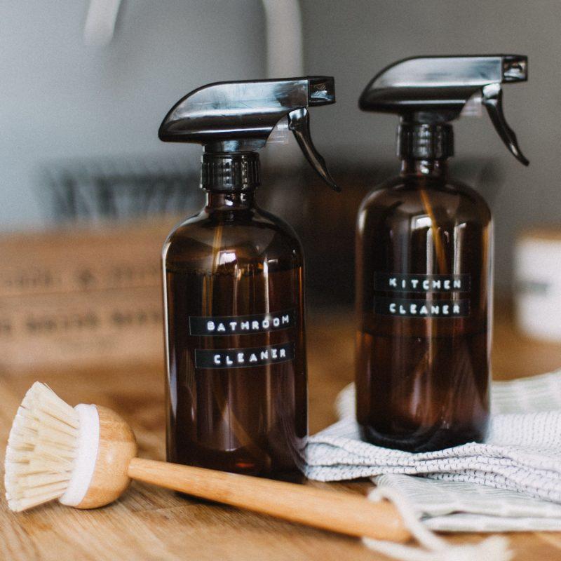 spray nettoyant fait maison pour cuisine, alternative zéro déchet