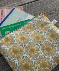 Trousse pour ranger cosmétiques ou papiers, alternative au zéro déchet