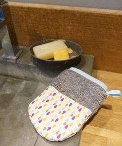 gant de toilette visage pour enfant