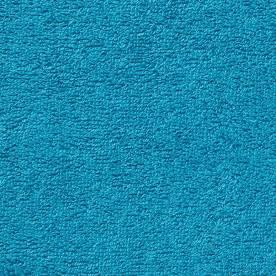 éponge en coton bleu