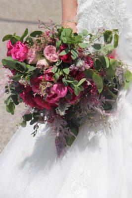 bouquet de la mariée création artisanale et locale