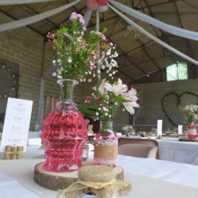 décoration de table home made